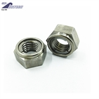Prevailing torque nuts with metal insert/u nut