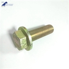 Full thread hexagon head flange bolt  class 10.9